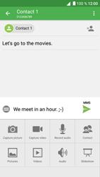 Alcatel Shine Lite - Mms - Sending a picture message - Step 14