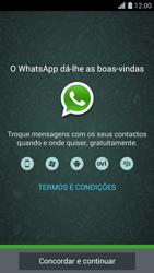 Huawei G620s - Aplicações - Como configurar o WhatsApp -  5