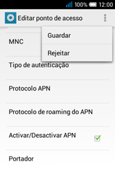 Alcatel POP C1 - MMS - Configurar MMS -  16