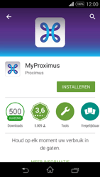 Sony D2203 Xperia E3 - Applicaties - MyProximus - Stap 8