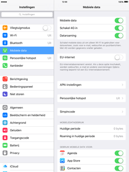 Apple iPad Air met iOS 9 (Model A1475) - Internet - EU internet uitzetten - Stap 6