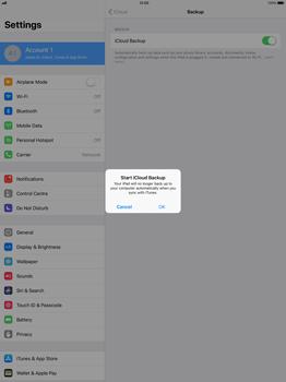 Apple Apple iPad Pro 12.9 - iOS 11 - Device maintenance - Create a backup of your data - Step 10