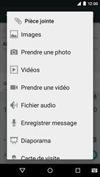 Motorola Moto E (1st Gen) (Lollipop) - Contact, Appels, SMS/MMS - Envoyer un MMS - Étape 12