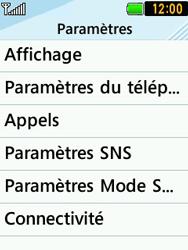 LG T580 - Sécuriser votre mobile - Personnaliser le code PIN de votre carte SIM - Étape 4