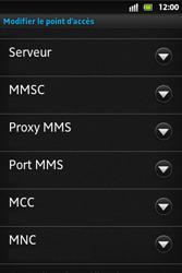 Sony ST27i Xperia Go - MMS - configuration manuelle - Étape 13