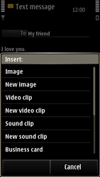 Nokia E7-00 - MMS - Sending pictures - Step 8