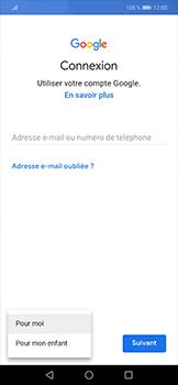 Huawei Mate 20 lite - Applications - Créer un compte - Étape 5