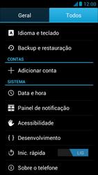 Huawei Ascend G510 - Funções básicas - Como restaurar as configurações originais do seu aparelho - Etapa 6