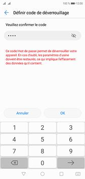 Huawei P20 - Sécuriser votre mobile - Activer le code de verrouillage - Étape 10