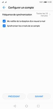Huawei P20 pro - E-mails - Ajouter ou modifier un compte e-mail - Étape 18