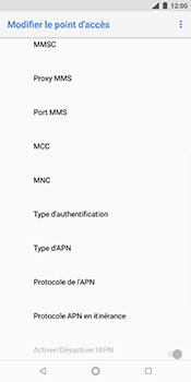 Nokia 7 Plus - MMS - Configuration manuelle - Étape 14