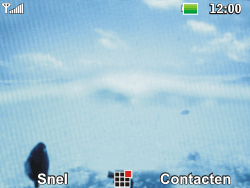 LG C360 Golf - SMS - Handmatig instellen - Stap 1