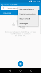BlackBerry Priv (STV100-4) - Voicemail - Handmatig instellen - Stap 5