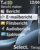 Nokia 2330 classic - E-mail - e-mail versturen - Stap 4