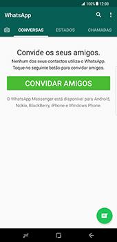 Samsung Galaxy S8 Plus - Aplicações - Como configurar o WhatsApp -  14