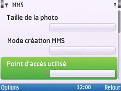 Nokia E5-00 - Mms - Configuration manuelle - Étape 20