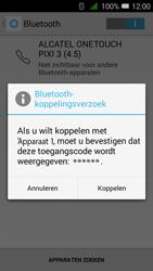 Alcatel OneTouch PIXI 3 (4.5) 3G (OT-4027X) - Bluetooth - Headset, carkit verbinding - Stap 7