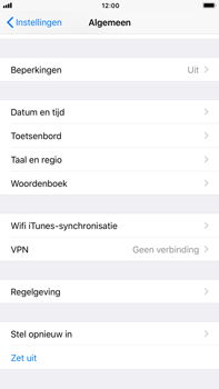 Apple iPhone 6s Plus iOS 11 - Toestel reset - terugzetten naar fabrieksinstellingen - Stap 4