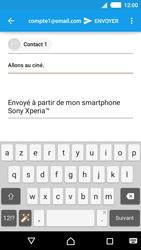 Sony Xperia M4 Aqua - E-mails - Envoyer un e-mail - Étape 8