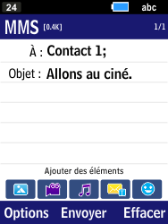 Samsung B550H Xcover 550 - MMS - envoi d'images - Étape 10