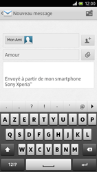 Sony LT28h Xperia ion - E-mail - Envoi d