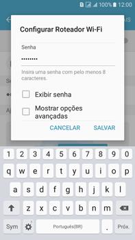 Samsung Galaxy On 7 - Wi-Fi - Como usar seu aparelho como um roteador de rede wi-fi - Etapa 9