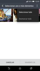 HTC One M9 - Bluetooth - Transferir archivos a través de Bluetooth - Paso 8