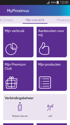 Samsung Galaxy A3 (2016) - Applicaties - MyProximus - Stap 13