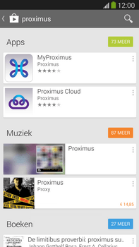 Samsung Galaxy S5 mini - Applicaties - MyProximus - Stap 6