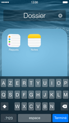 Apple iPhone 5 (iOS 8) - Applications - Personnaliser l