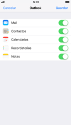 Apple iPhone 6s - iOS 11 - E-mail - Configurar Outlook.com - Paso 9