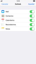 Apple iPhone 7 iOS 11 - E-mail - Configurar Outlook.com - Paso 9