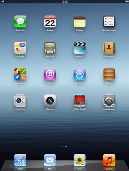 Apple iPad 4th generation - Voicemail - handmatig instellen - Stap 1