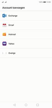 Huawei P20 - Dual SIM - E-mail - e-mail instellen: IMAP (aanbevolen) - Stap 4