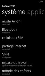 Nokia Lumia 635 - Réseau - Sélection manuelle du réseau - Étape 4