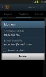 Samsung Galaxy S3 Mini - Contact, Appels, SMS/MMS - Envoyer un MMS - Étape 7