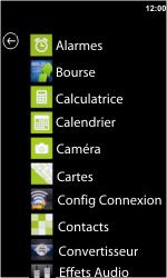 HTC 7 Trophy - Paramètres - assistant réglages - Étape 3