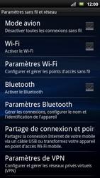 Sony Ericsson Xpéria Arc - Internet et connexion - Partager votre connexion en Wi-Fi - Étape 5