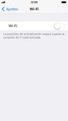 Apple iPhone SE iOS 11 - WiFi - Conectarse a una red WiFi - Paso 4