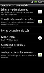 HTC S510e Desire S - Internet - configuration manuelle - Étape 7