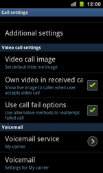 Samsung I9100 Galaxy S II - Voicemail - Manual configuration - Step 5