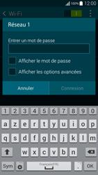 Samsung Galaxy Alpha - WiFi et Bluetooth - Configuration manuelle - Étape 7