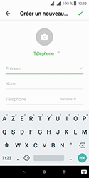 Alcatel 1 - Contact, Appels, SMS/MMS - Ajouter un contact - Étape 8