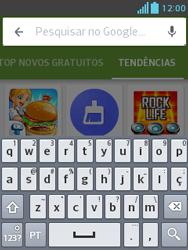 LG E430 Optimus L3 II - Aplicativos - Como baixar aplicativos - Etapa 13