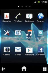 Sony ST21i Xperia Tipo - MMS - probleem met ontvangen - Stap 3