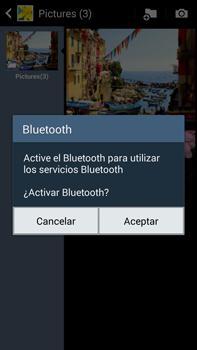 Samsung Galaxy Note 3 - Bluetooth - Transferir archivos a través de Bluetooth - Paso 10
