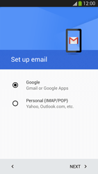 Samsung I9505 Galaxy S IV LTE - E-mail - Manual configuration (gmail) - Step 8