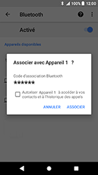 Sony Xperia X Compact - Android Oreo - Bluetooth - connexion Bluetooth - Étape 10