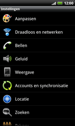 HTC S510e Desire S - MMS - Handmatig instellen - Stap 4