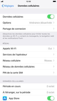 Apple iPhone 8 Plus - iOS 12 - Réseau - Activer 4G/LTE - Étape 4